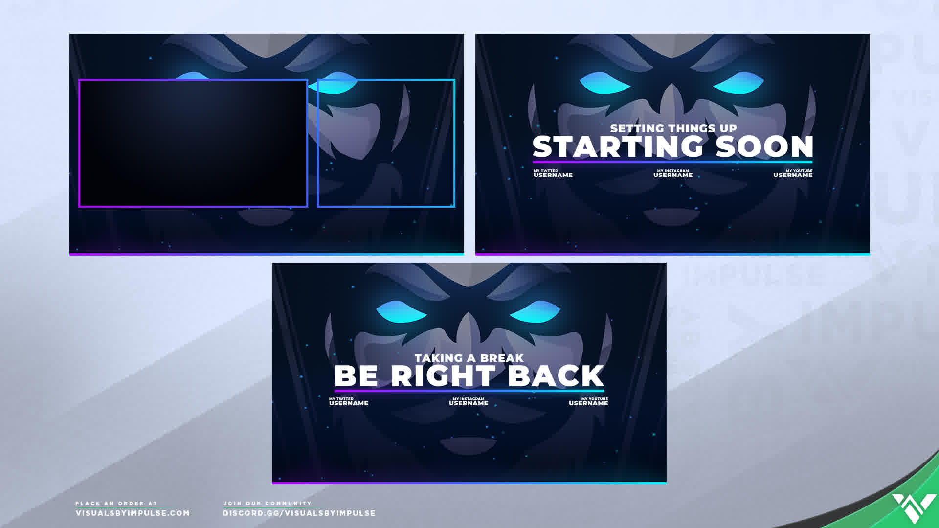 Free Stream Overlay Library / Streamlabs OBS