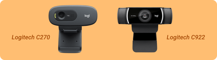 Cameras for streaming