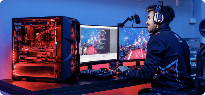 Monitors for streaming