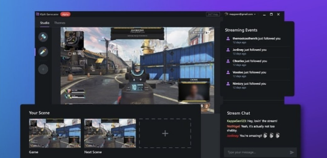 XSplit is a trusted live streaming and recording software for gaming, presentations and live events. Start streaming on Twitch or YouTube for FREE